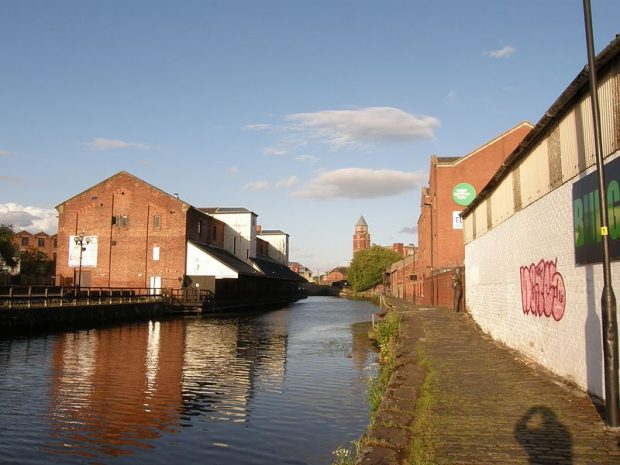 Image of Wigan Pier.